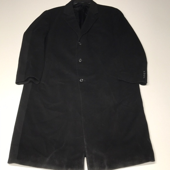 grant thomas Other - GRANT THOMAS Black Wool / Cashmere Trench Coat